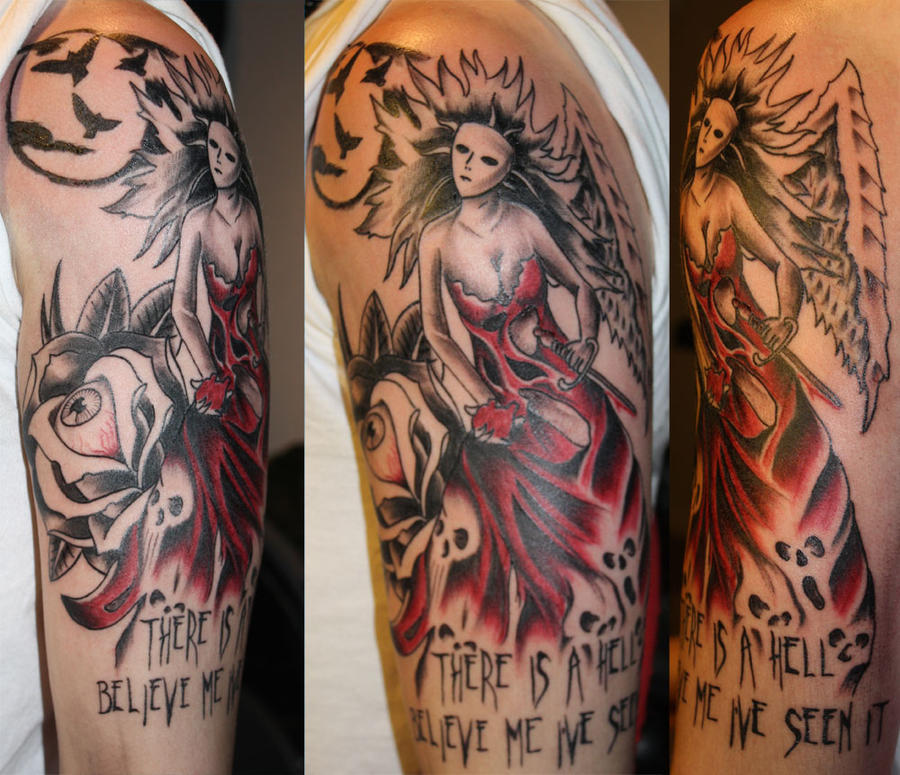 Depression Is Hell Tattoo Submit Your Tattoo: Hell Tattoo By Unibody On DeviantArt