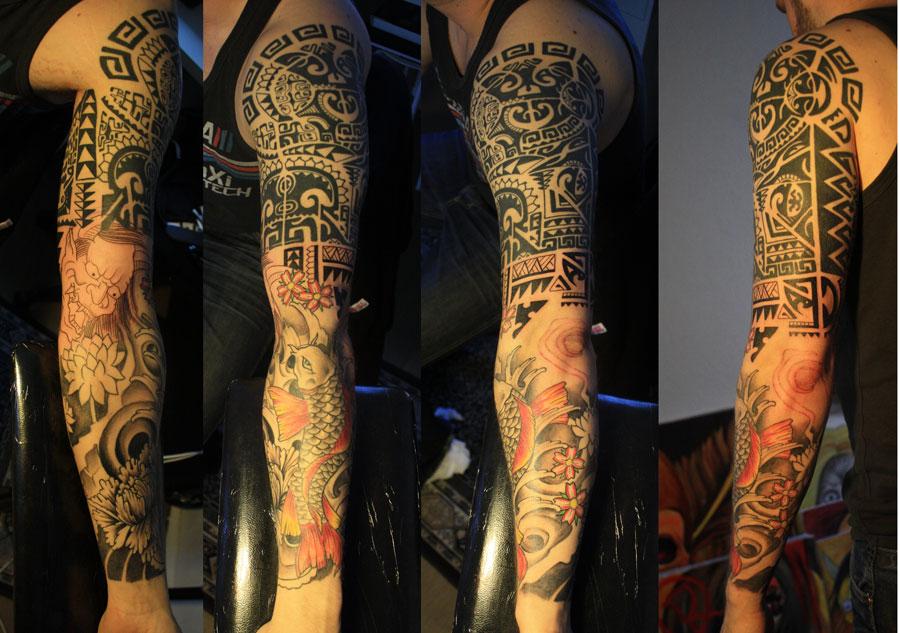 tattoo sleeve by Unibody