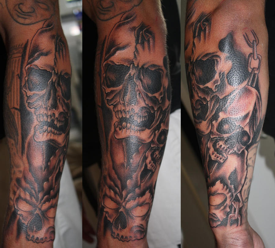 life and death tattoo sleeves wwwimgkidcom the image
