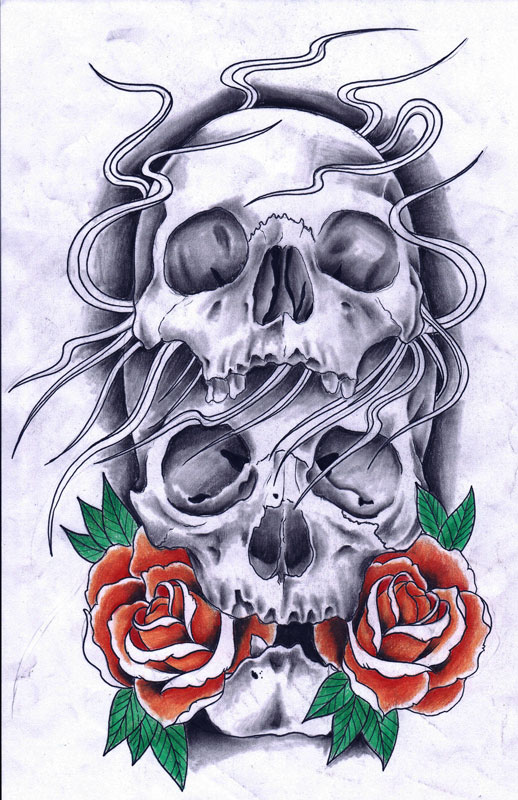 Jenny Clarke Flower Tattoo Designs