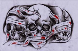 3 skulls by Unibody