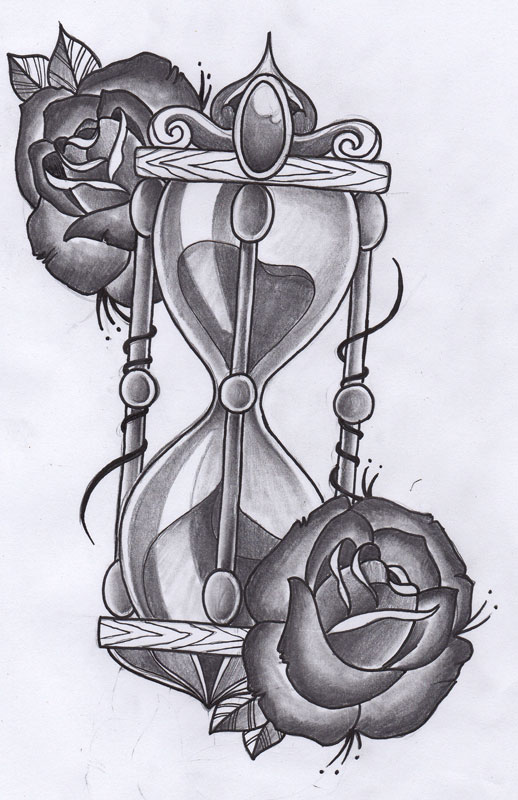 Tattoo Hourglass Design Images amp Pictures Becuo
