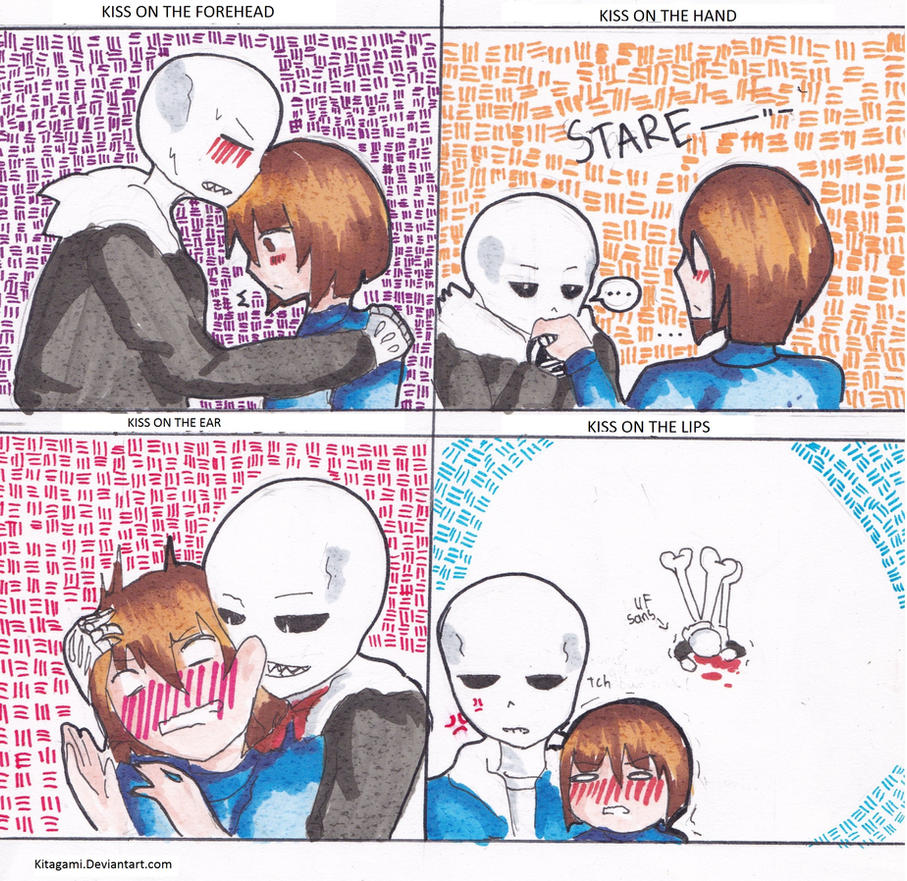 Underfell Chara And Frisk Kiss – Daily Motivational Quotes