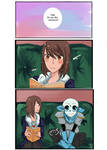 Someone you like: US Frans Comic: Pg 1