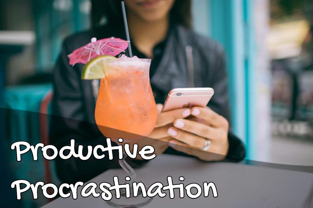 Productive Procrastination (original photo by Mark C.)