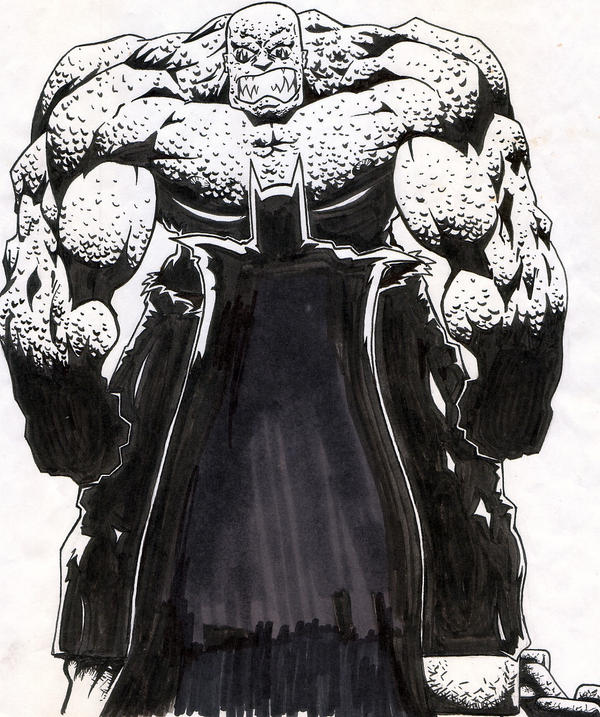 Batman questions killer croc by tan001 on deviantart for Killer croc coloring pages