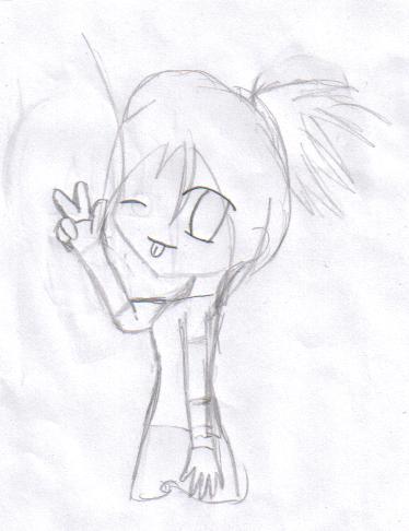 Me:sketch by KinekoHatake1