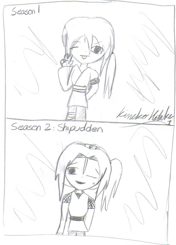 Me:season 1 and shipudden by KinekoHatake1