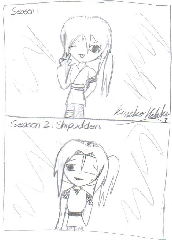 Me:season 1 and shipudden by KinekoHatake1