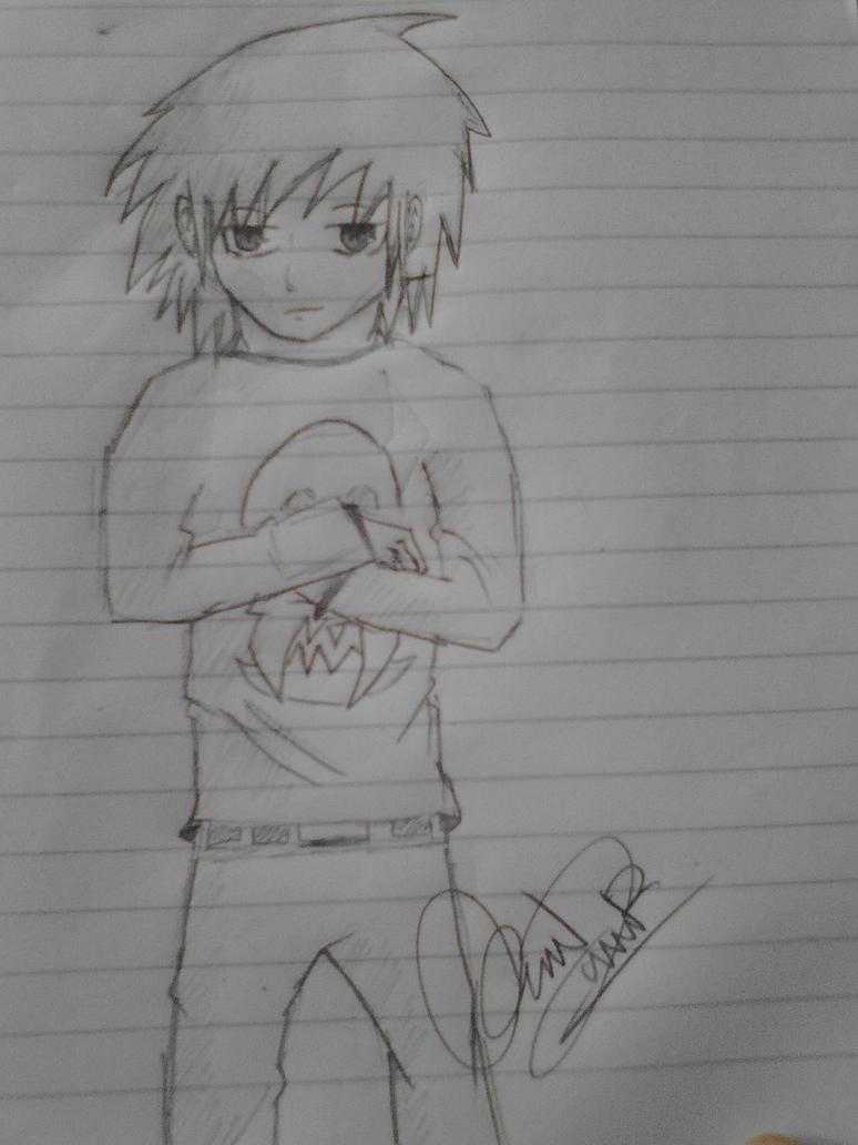 my job at my notebook....hahaha^~^ by zenkiye