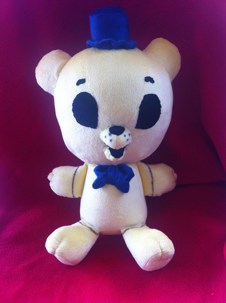 Golden Freddy the Adorable by PlushQueenDIY