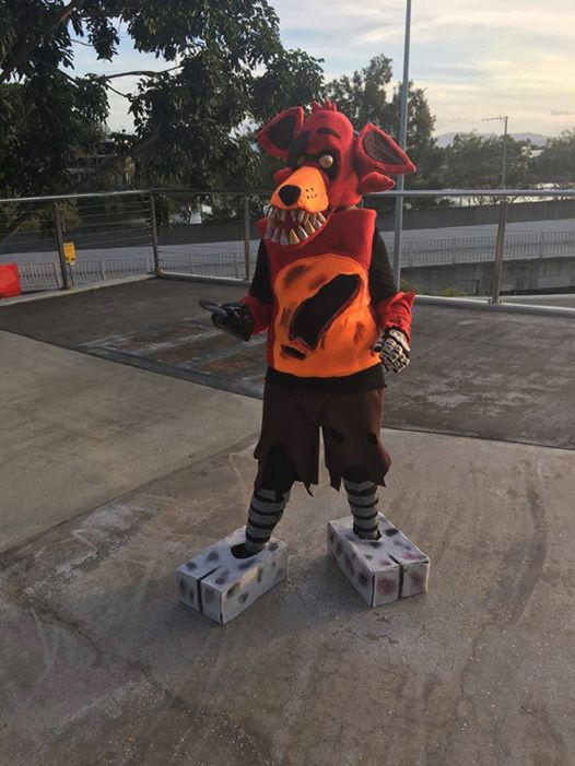 My 2nd ever Cosplay (Foxy)