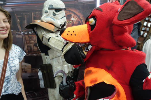 Yummy! Stormtrooper on the Menu!