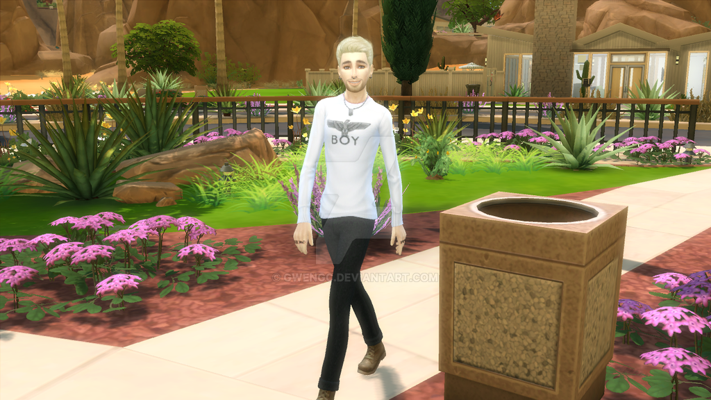 The sims 4 Bill Kaulitz by GwenGC