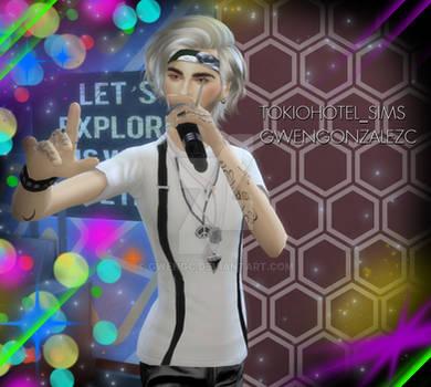 Billy Mexico - Bill Kaulitz Sim 4