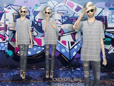 Bill Kaulitz Sims4-sunglasses.