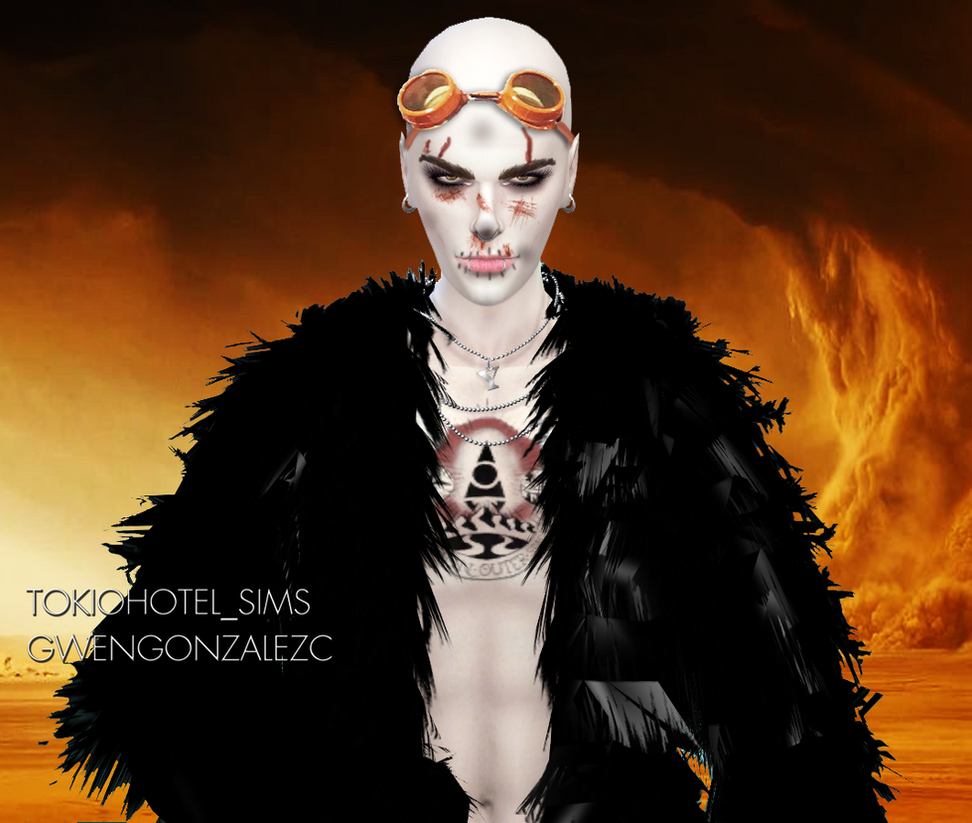 Bill Kaulitz Sims 4 MadMax Nux Sims 4 Halloween by GwenGC ...  sc 1 st  GwenGC - DeviantArt & Bill Kaulitz Sims 4 MadMax Nux Sims 4 Halloween by GwenGC on DeviantArt