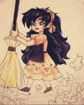 Pyra's childhood past