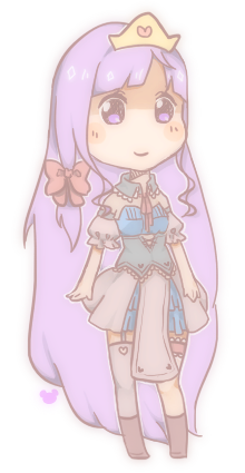 hime oc coloured yay