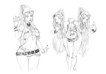 Reyected designs 1 by chochi