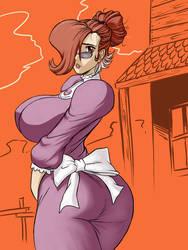 Auntie Vixen: HARAM!!! by chochi