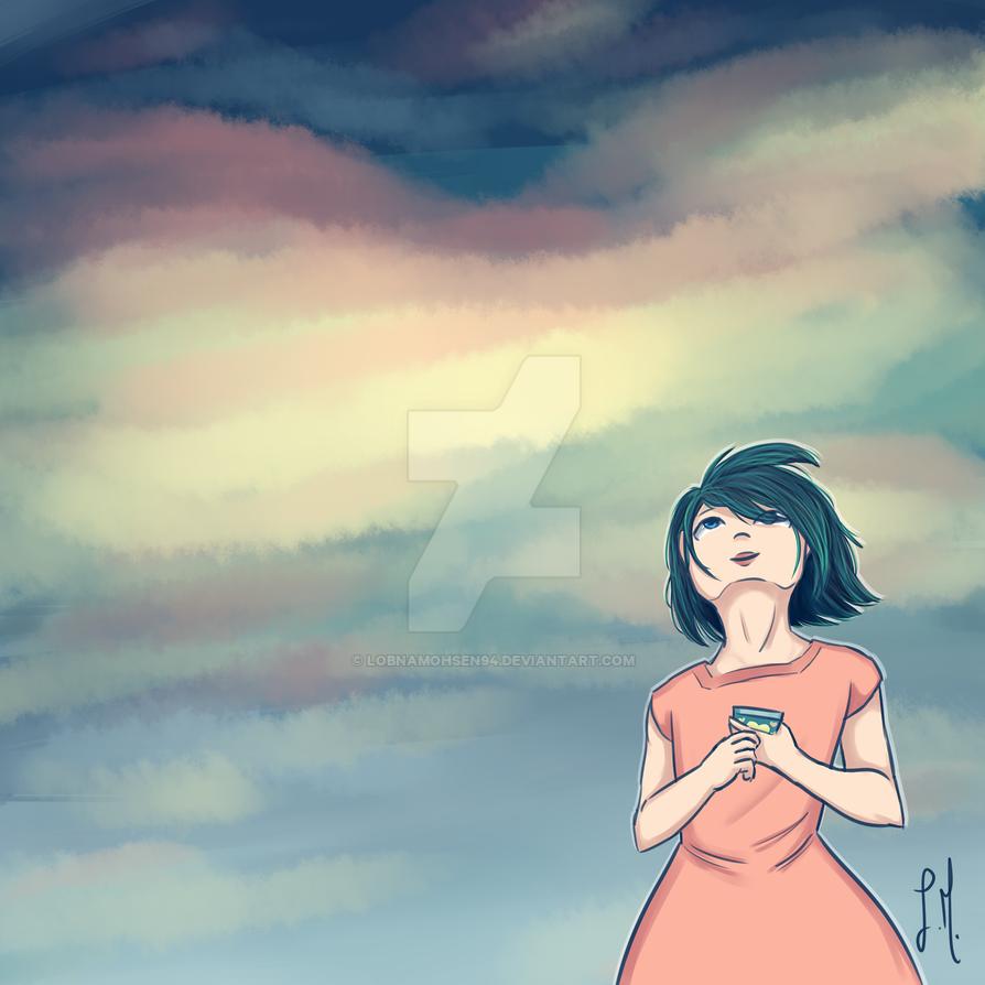 Enjoying The Sky 2 by lobnamohsen94