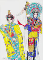 Beijing Opera by MimiMarilyn