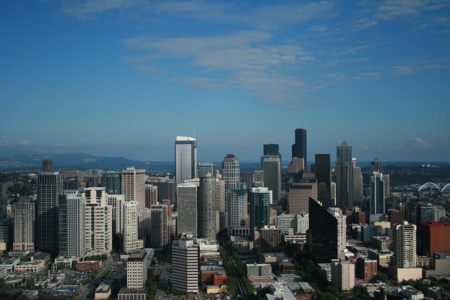 Downtown seattle by s1ngl3t0n on deviantart for 7 salon downtown seattle