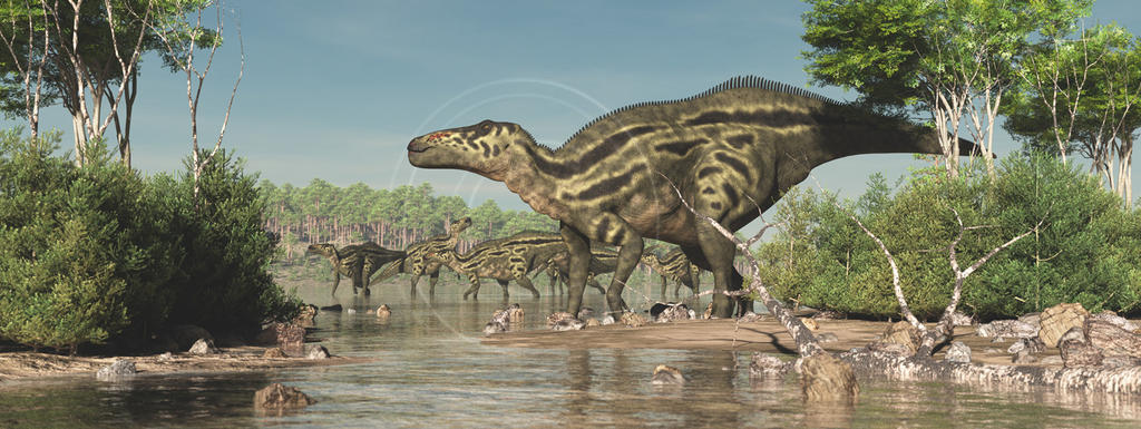Shantungosaurus by PaleoGuy