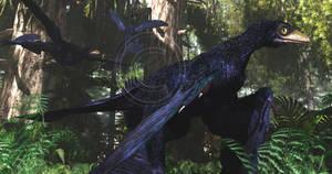 Microraptor by PaleoGuy