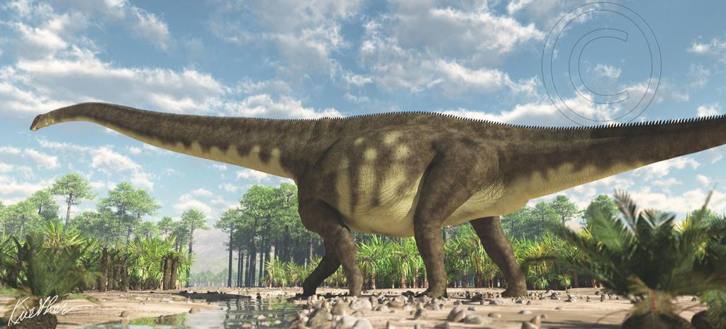 Mamenchisaurus by PaleoGuy