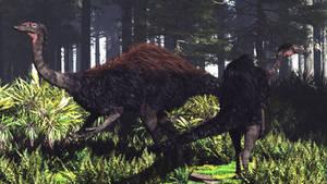Deinocheirus Male and Female