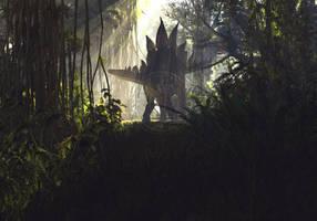 Stegosaurus by PaleoGuy