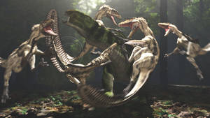 Eolambia and Deinonychus