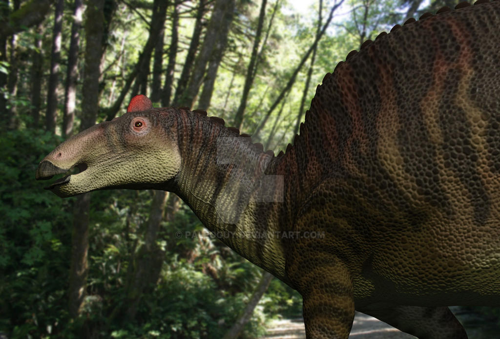 Edmontosaurus by PaleoGuy on DeviantArt