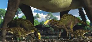 Gryposaurus Alamosaurus