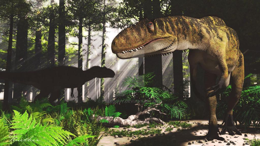 Metriacanthosaurus Metriacanthosaurus by PaleoGuy