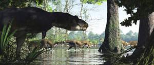 Daspletosaurus Brachylophosaurus