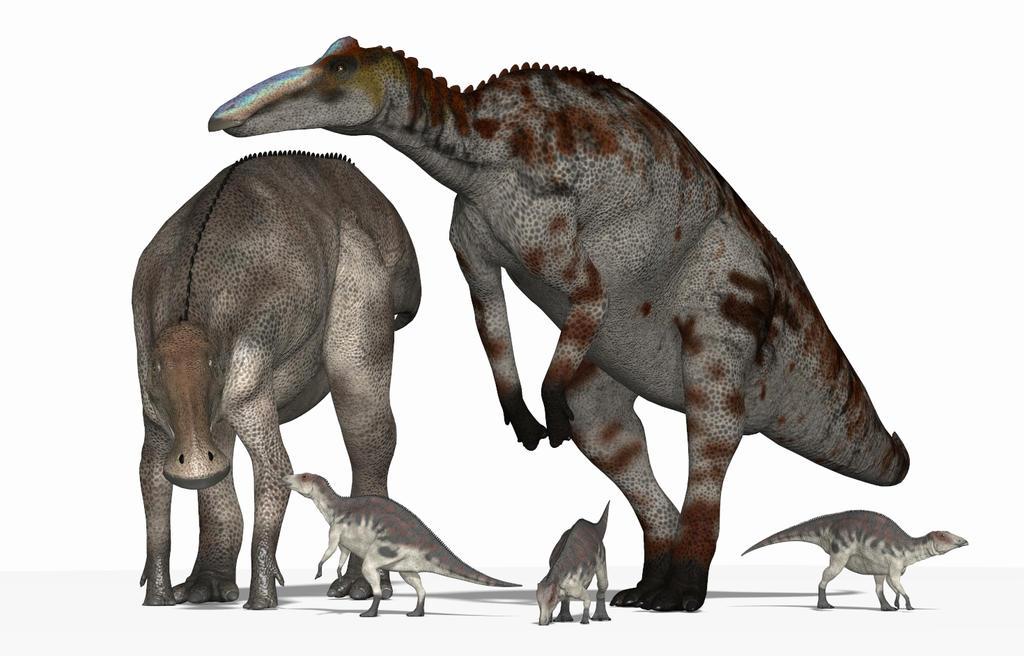 Anatotitan (aka Edmontosaurus annectens) by PaleoGuy