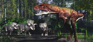 Teratophoneus Kosmoceratops
