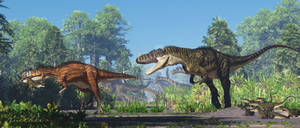 Ceratosaurus Torvosaurus