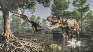 Tarbosaurus Zhejiangopterus