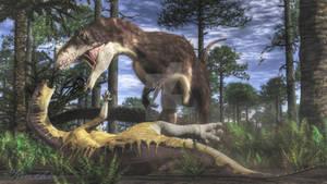 Yutyrannus and Jinzhousaurus