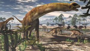 Camarasaurus and Morrison Fauna