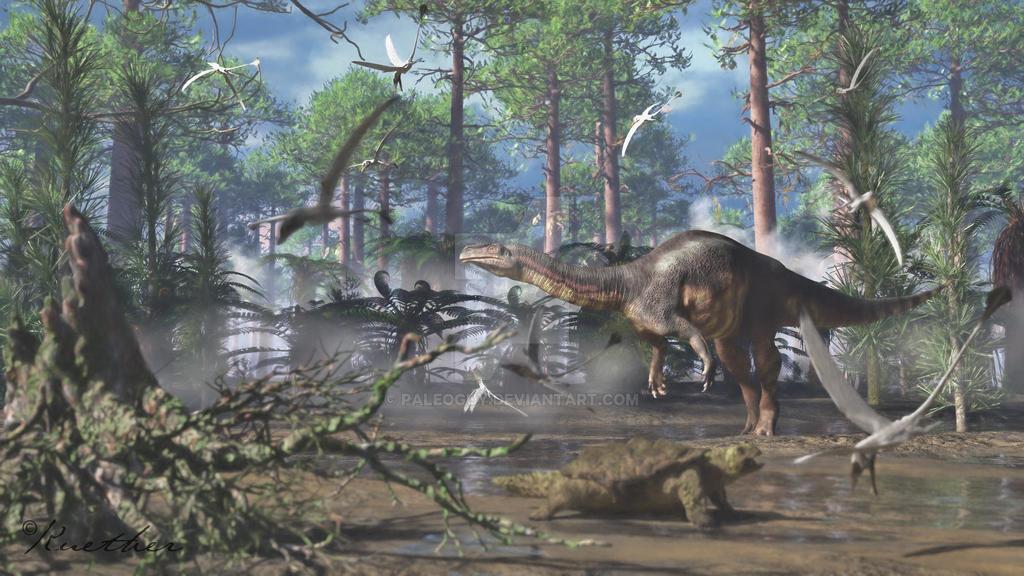 Plateosaurus by PaleoGuy