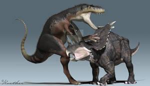 Bistahieversor Pentaceratops