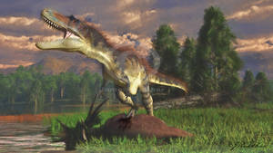 Gorgosaurus with Styracosaurus