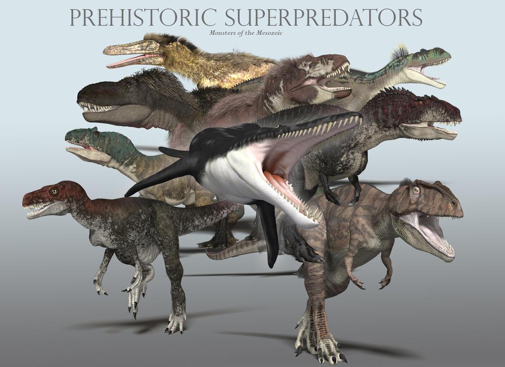 PrehistoricSuperpredators by PaleoGuy