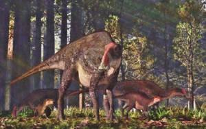 Brachylophosaurus by PaleoGuy