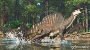 Sarcosuchus, Ouranosaurus